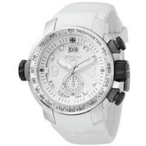 Zodiac klockarmband ZO8511 Gummi Vit