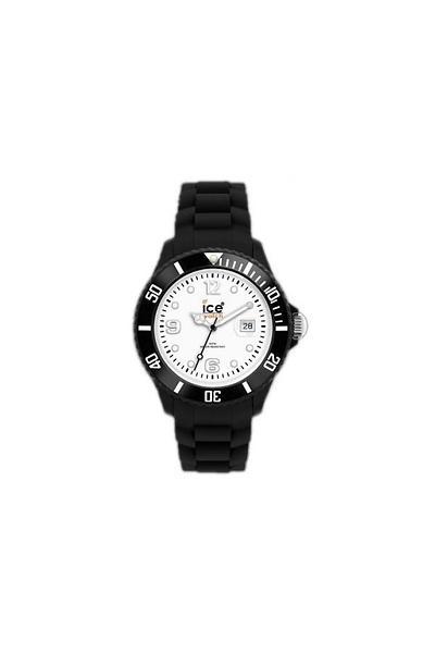 Klockarmband Ice Watch 000488 / 000161 / 005079 Gummi Svart 17mm