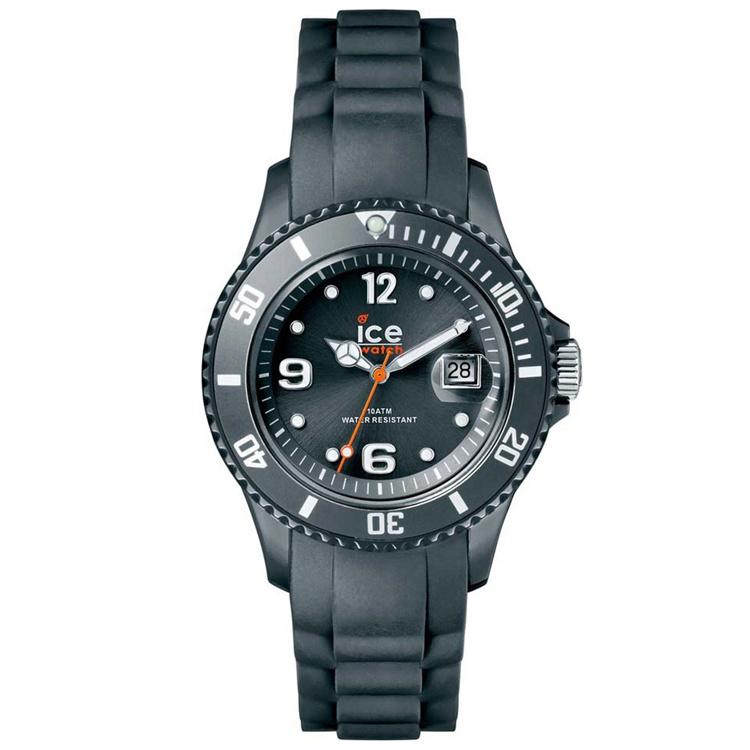 Klockarmband Ice Watch 001423 Gummi Grå 17mm