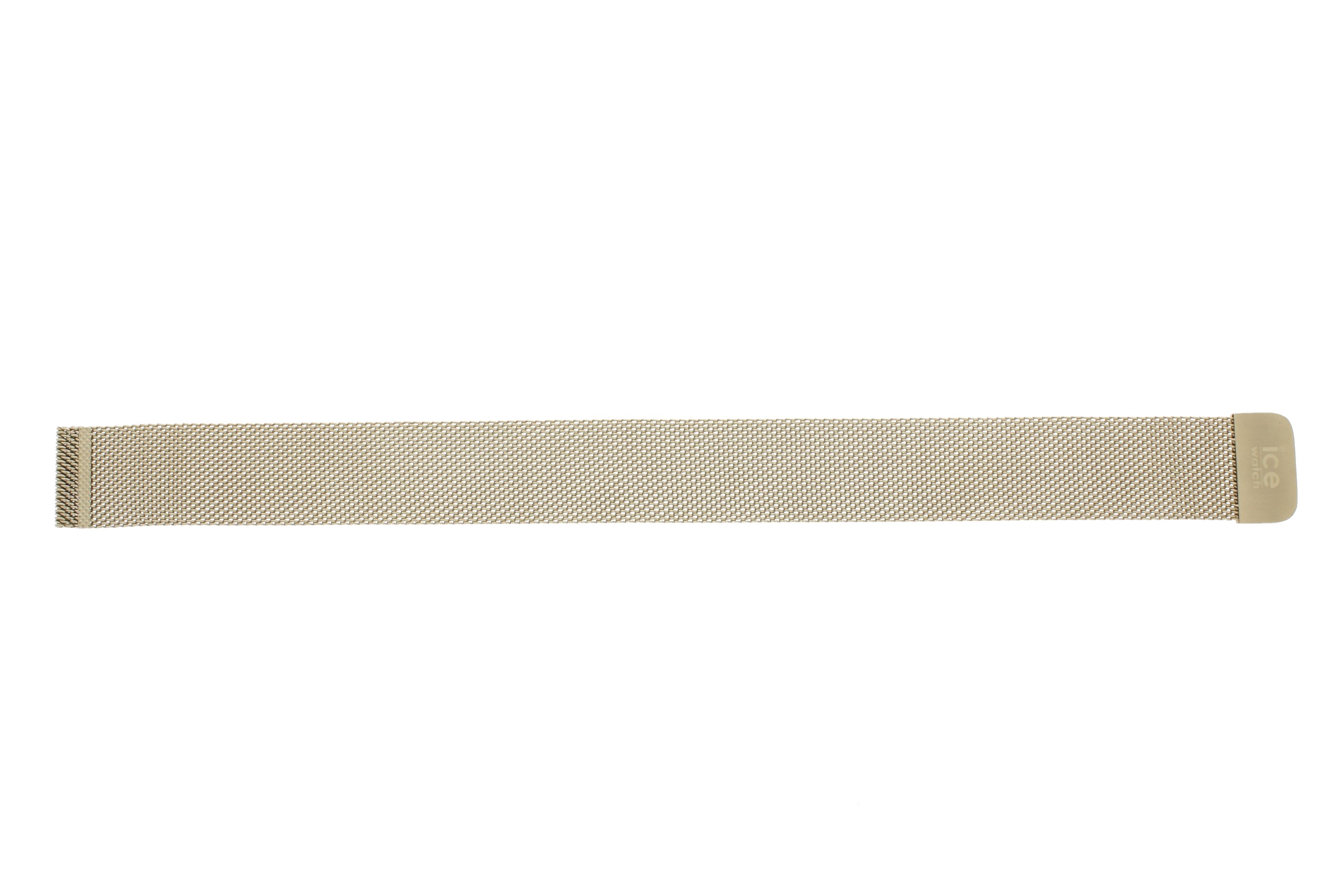 Klockarmband Ice Watch 012704 / 012705 / 012706 / 012707 Rostfritt stål Guldpläterad 20mm