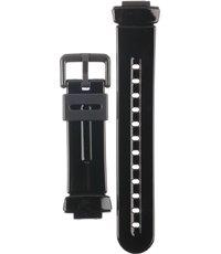 Klockarmband Casio 10162886 / BG-169A-1AV Plast Svart 14mm