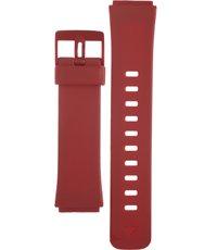 Klockarmband Casio 10224495 / LA-2001-4A Plast Röd 19mm