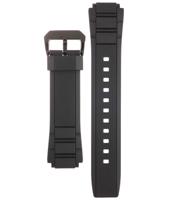 Klockarmband Casio 10404335 / EFR-515PB-1A2V Plast Svart 18mm