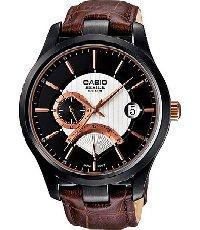 Klockarmband Casio 10427209 / BEM-308BL-1AV Läder Brun 20mm