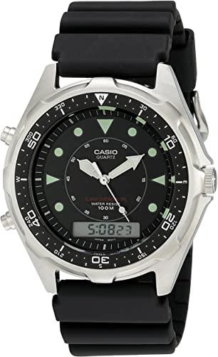 Klockarmband Casio 10318687 / AMW-340-1AV / AMV-340-9AV Plast Svart 18mm