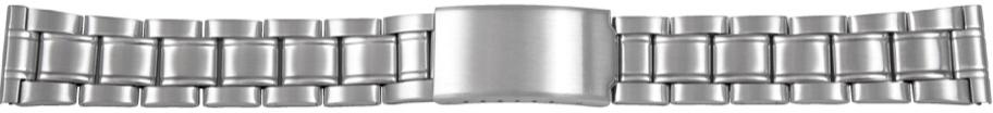 Klockarmband CMA54-22 Metall Ilverfärgad 22mm