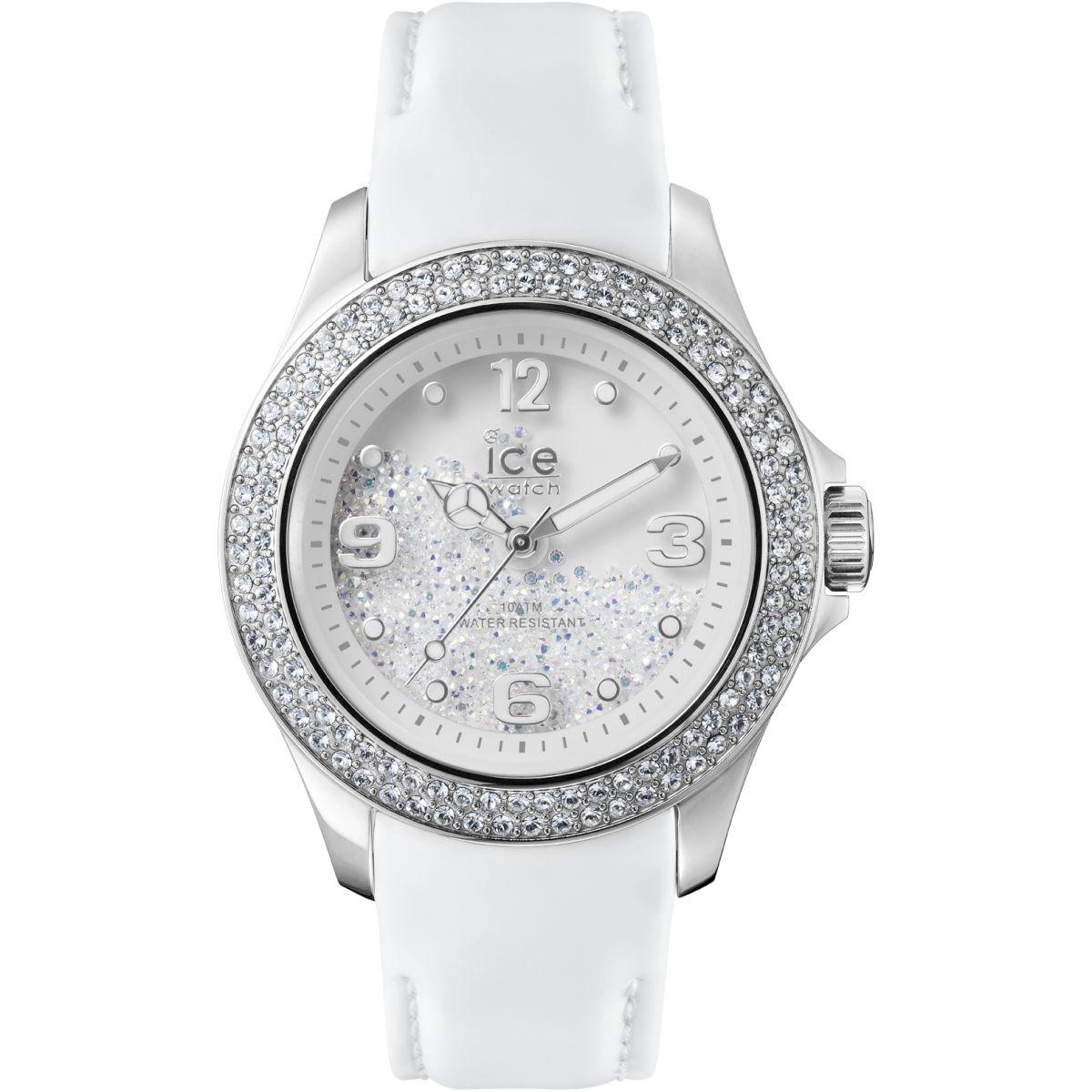 Klockarmband Ice Watch CY.SRW.U.L.14 Läder Vit