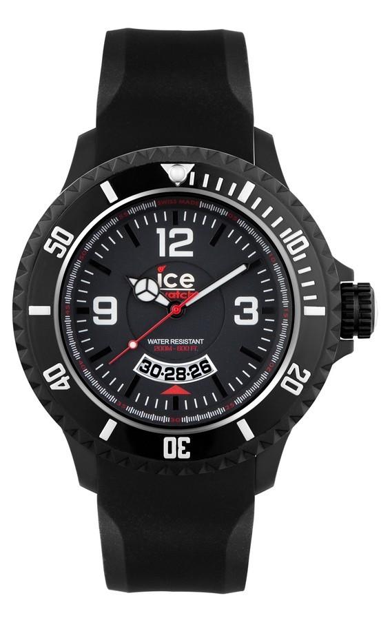 Klockarmband Ice Watch DI.BW.XB.R.11 Plast Svart 20mm