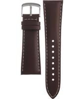 Klockarmband Casio 10273088 / EF-509L-7AV Läder Brun 25mm