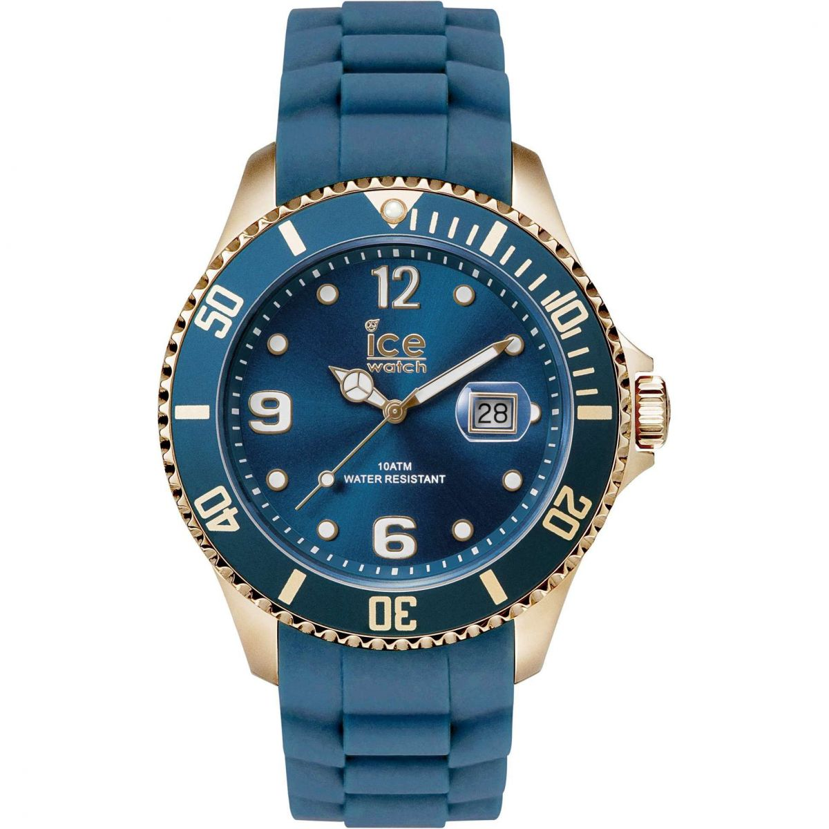 Klockarmband Ice Watch IS.OXR.B.S.13 Gummi Blå 22mm