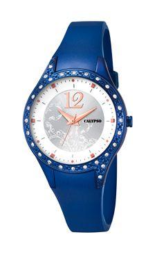 Calypso klockarmband K5660-5 / K5660-6 Gummi Blå