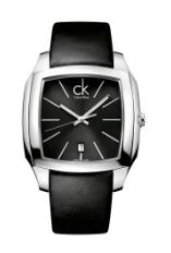 Calvin Klein klockarmband K600.000.095 Läder Svart 20mm