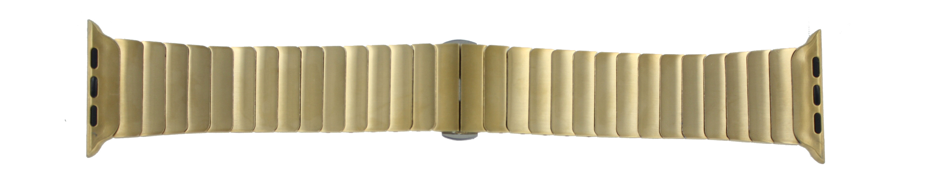 Apple (replacement model) klockarmband LS-AB-107 Stål Guld (Doublé) 42mm