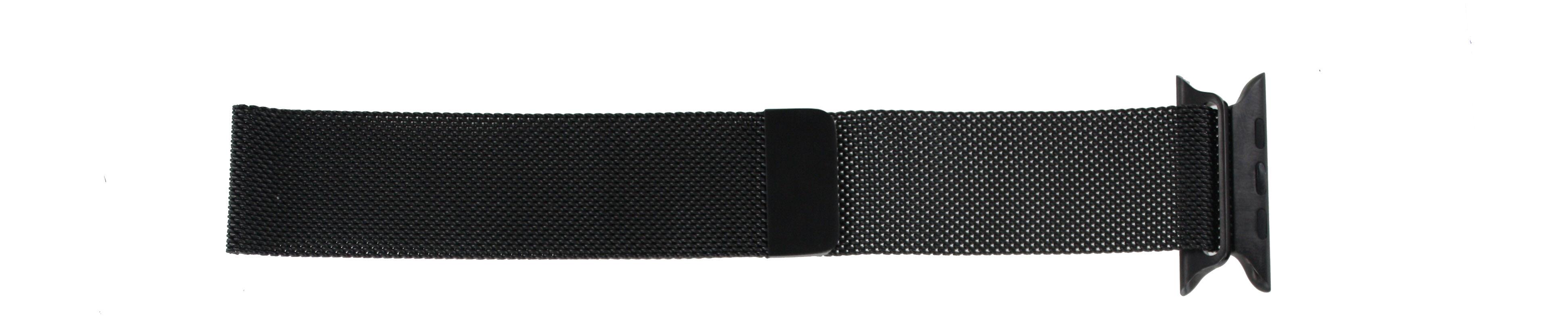 Apple (replacement model) klockarmband LS.AB.108 Stål Svart 42mm