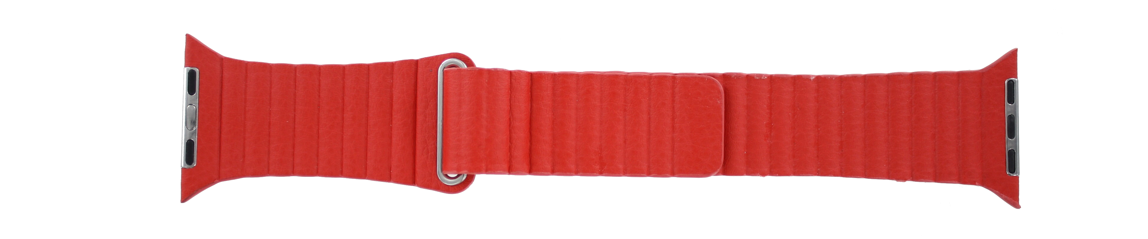 Apple (replacement model) klockarmband LS-AB-110 Läder Rött 42mm