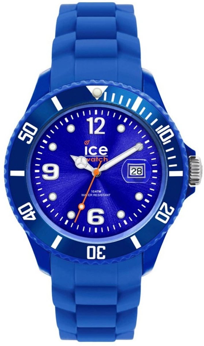 Klockarmband Ice Watch S1.BE.S.S.09 Silikon Blå 17mm