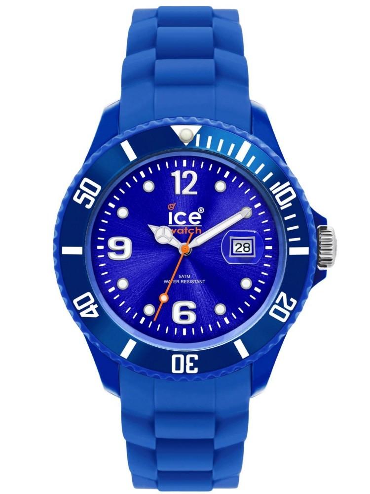 Klockarmband Ice Watch SI.BE.S.S.09 / 004925 Gummi Blå 22mm