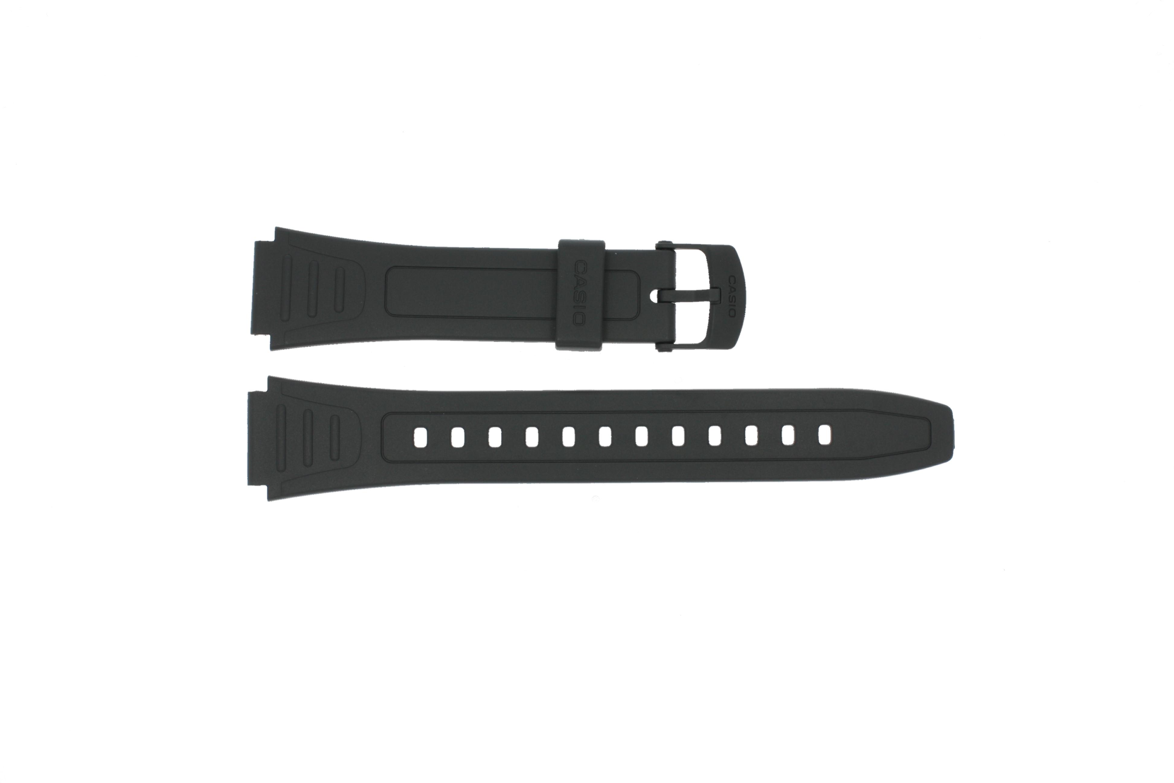 Casio klockarmband 10268612 Plast Svart 18mm