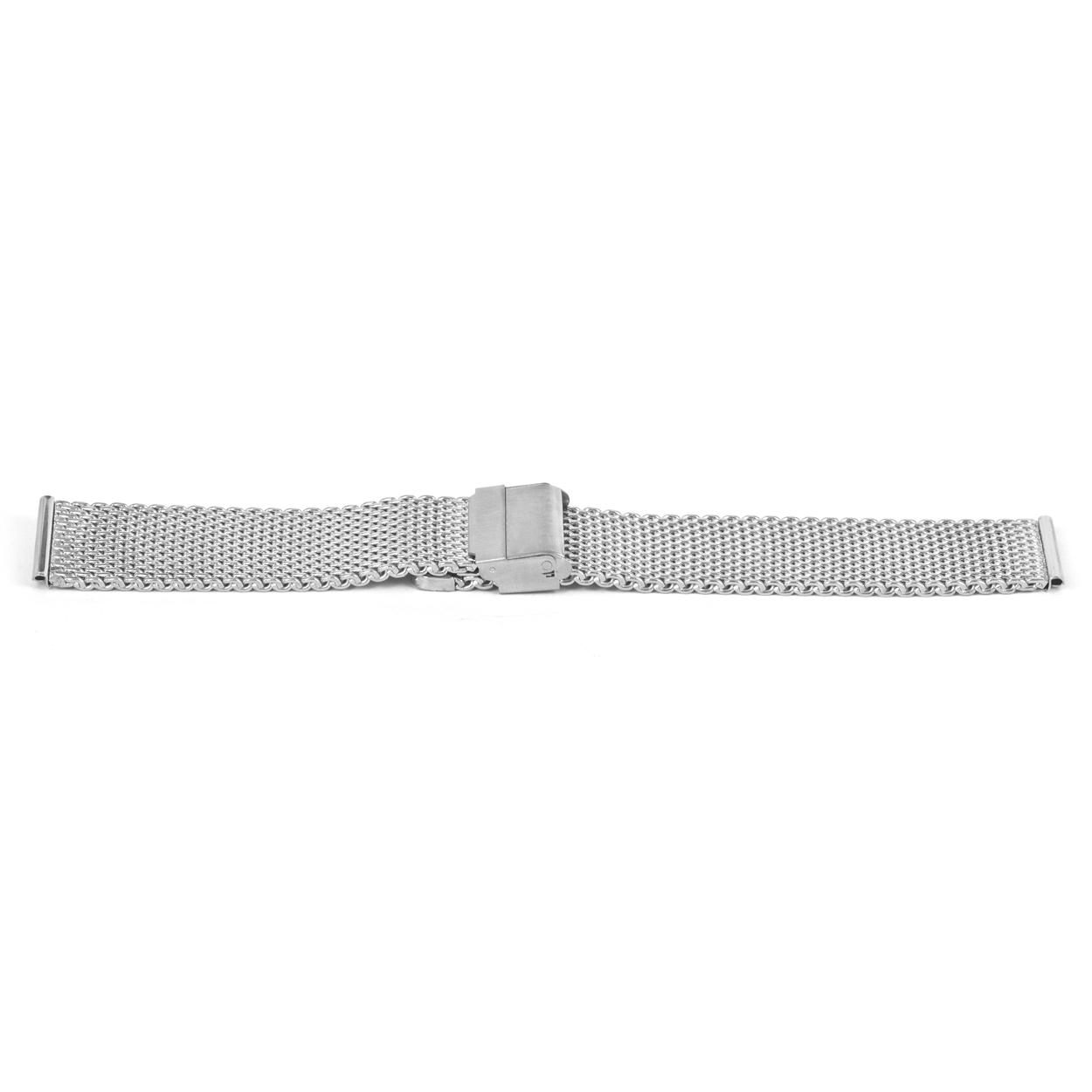Klockarmband YG43 Metall Ilverfärgad 20mm