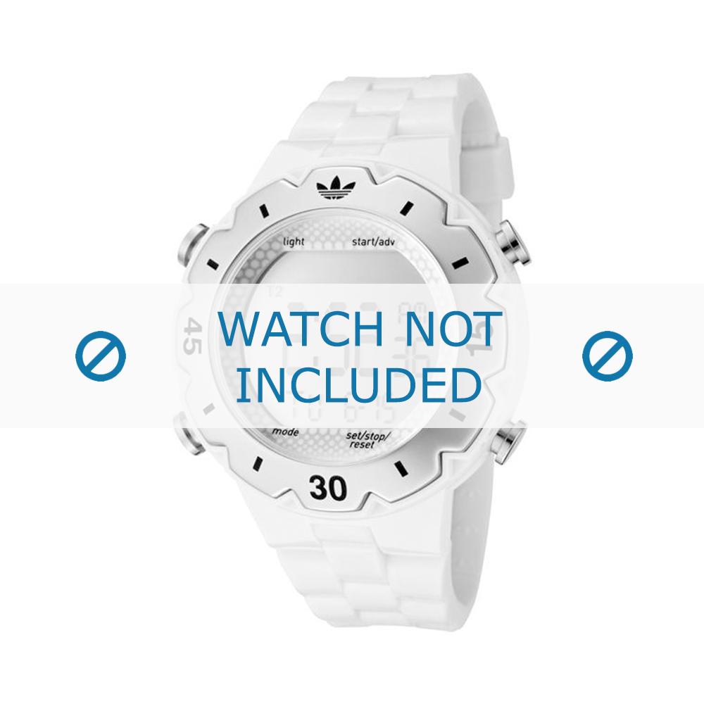 Adidas klockarmband ADH1768 Silikon Vitt 16mm