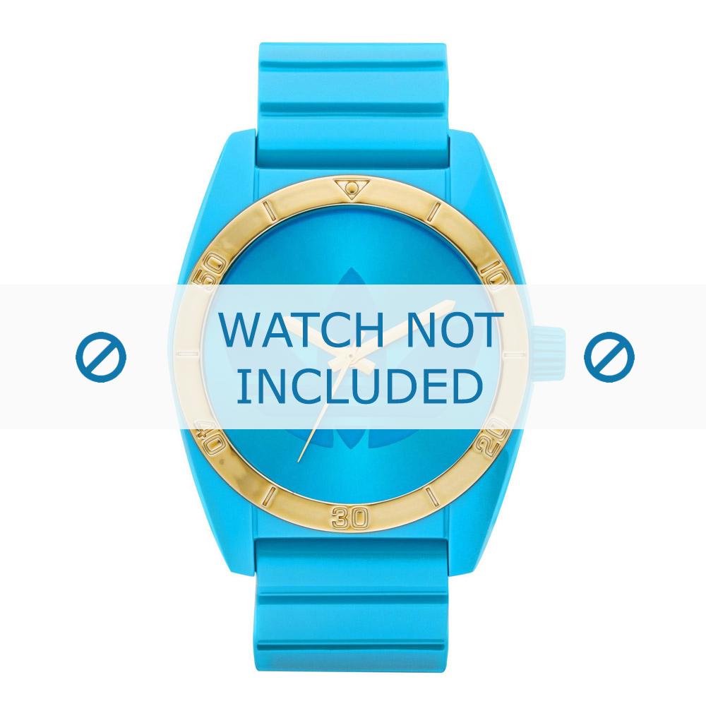 Adidas klockarmband ADH2801 Silikon Blå 22mm