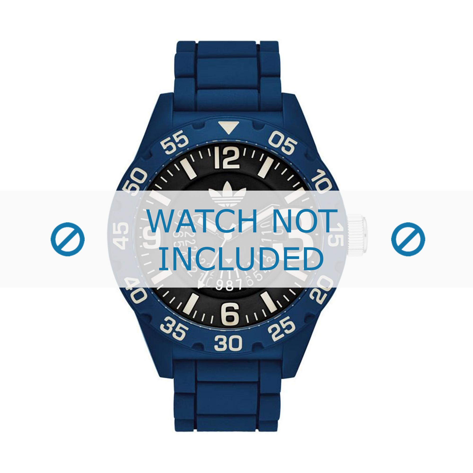 Adidas klockarmband ADH3141 Gummi Blå