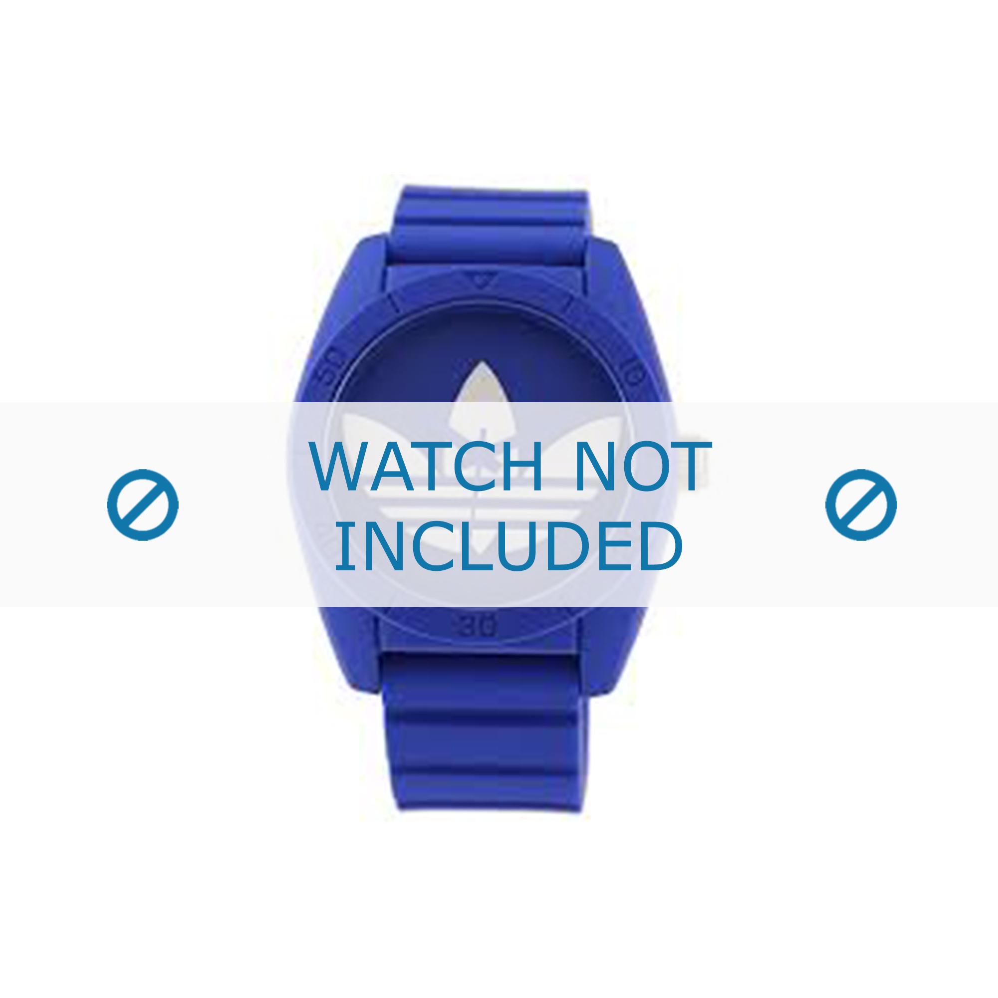 Adidas klockarmband ADH6169 Gummi Blå