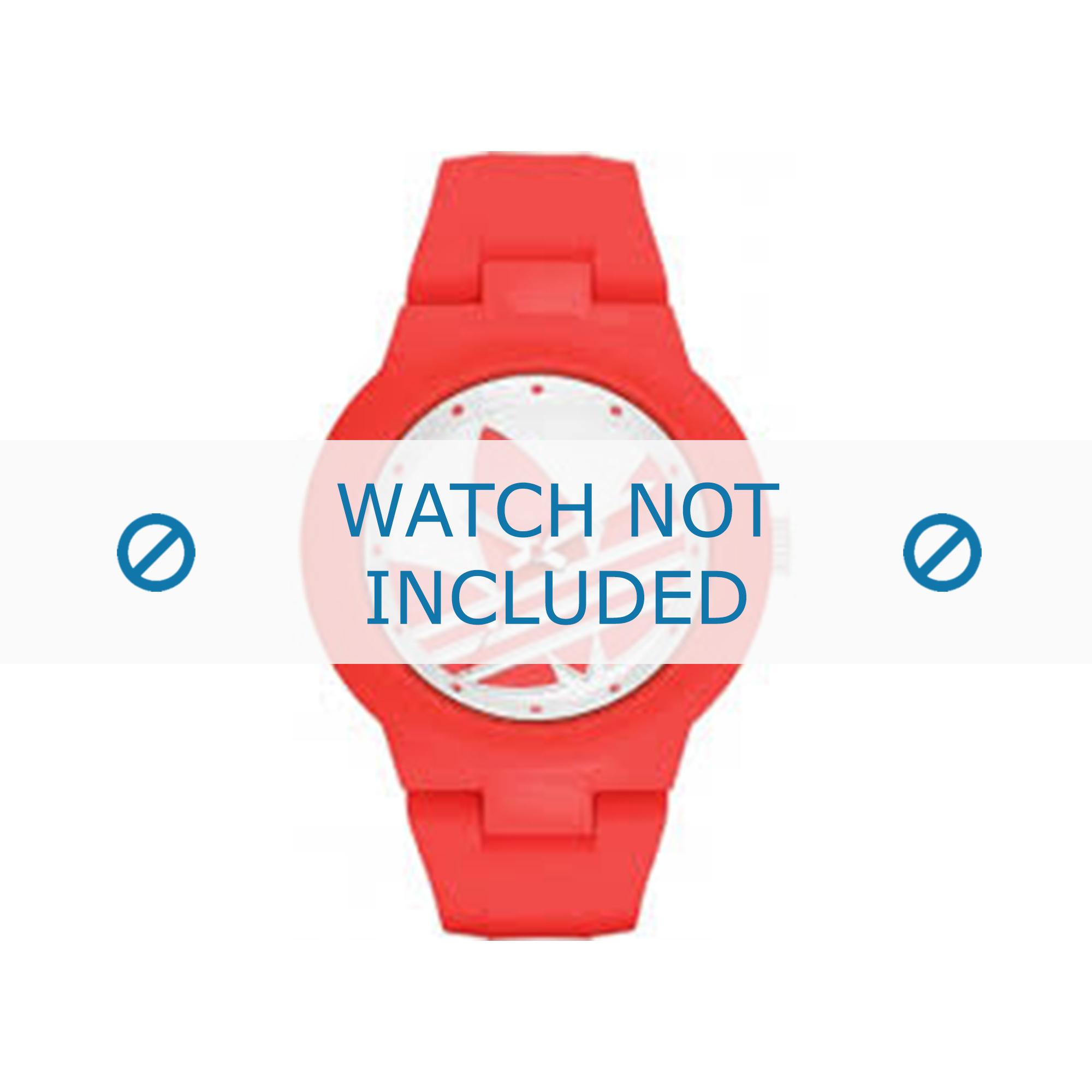 Adidas klockarmband ADH3115 Gummi Röd