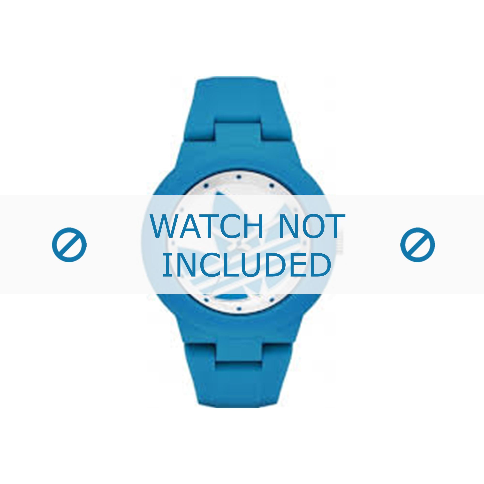 Adidas klockarmband ADH3118 Gummi Ljusblå