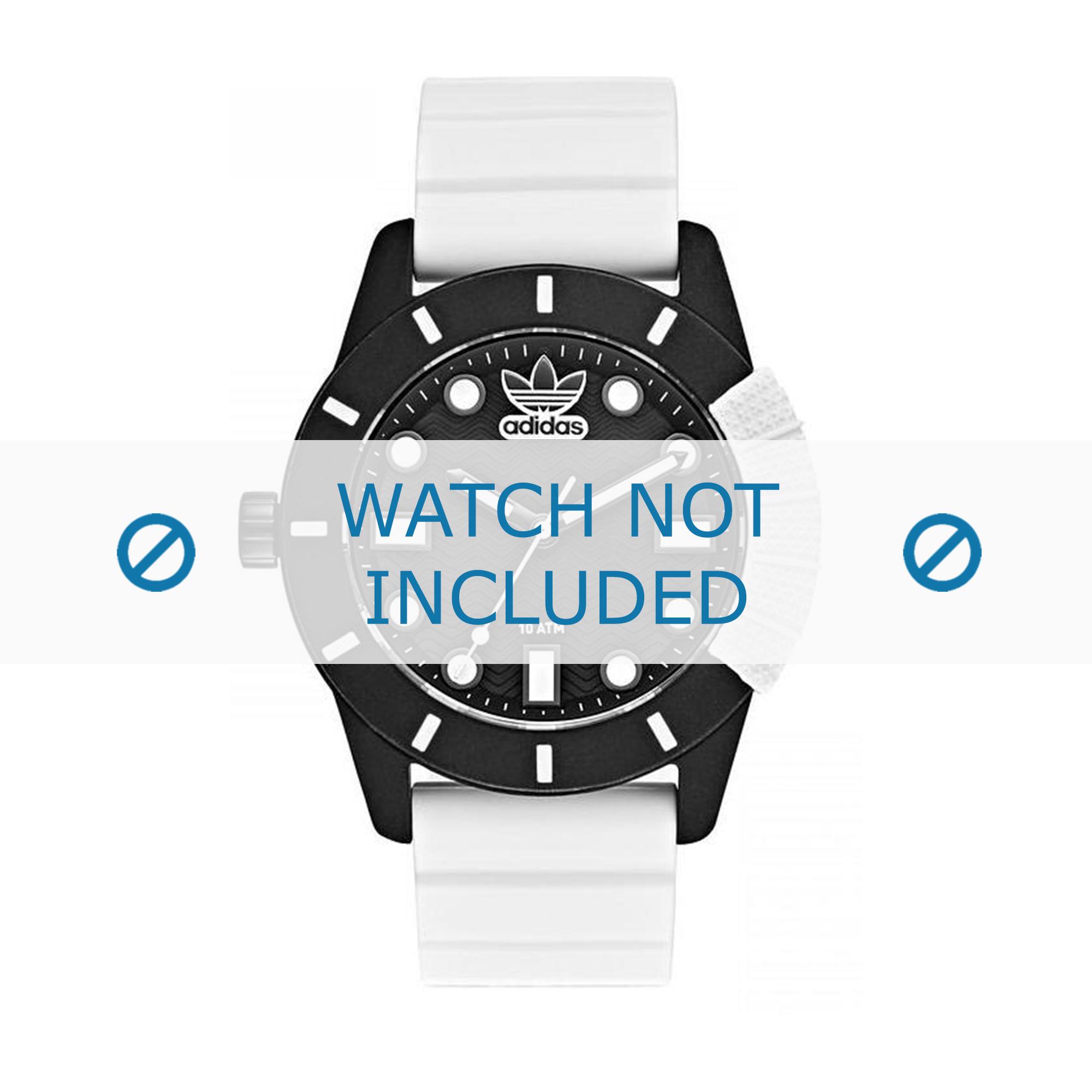 Adidas klockarmband ADH3132 Gummi Vit