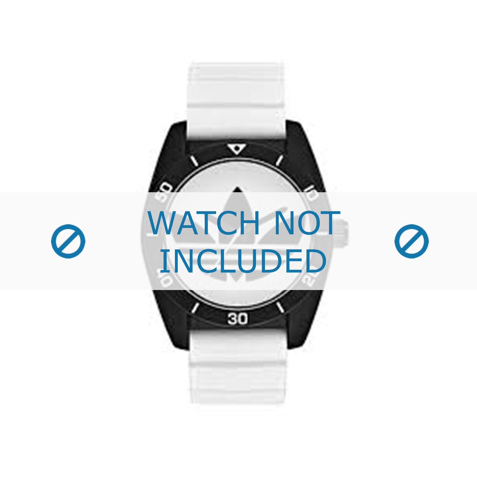 Adidas klockarmband ADH3133 Gummi Vit