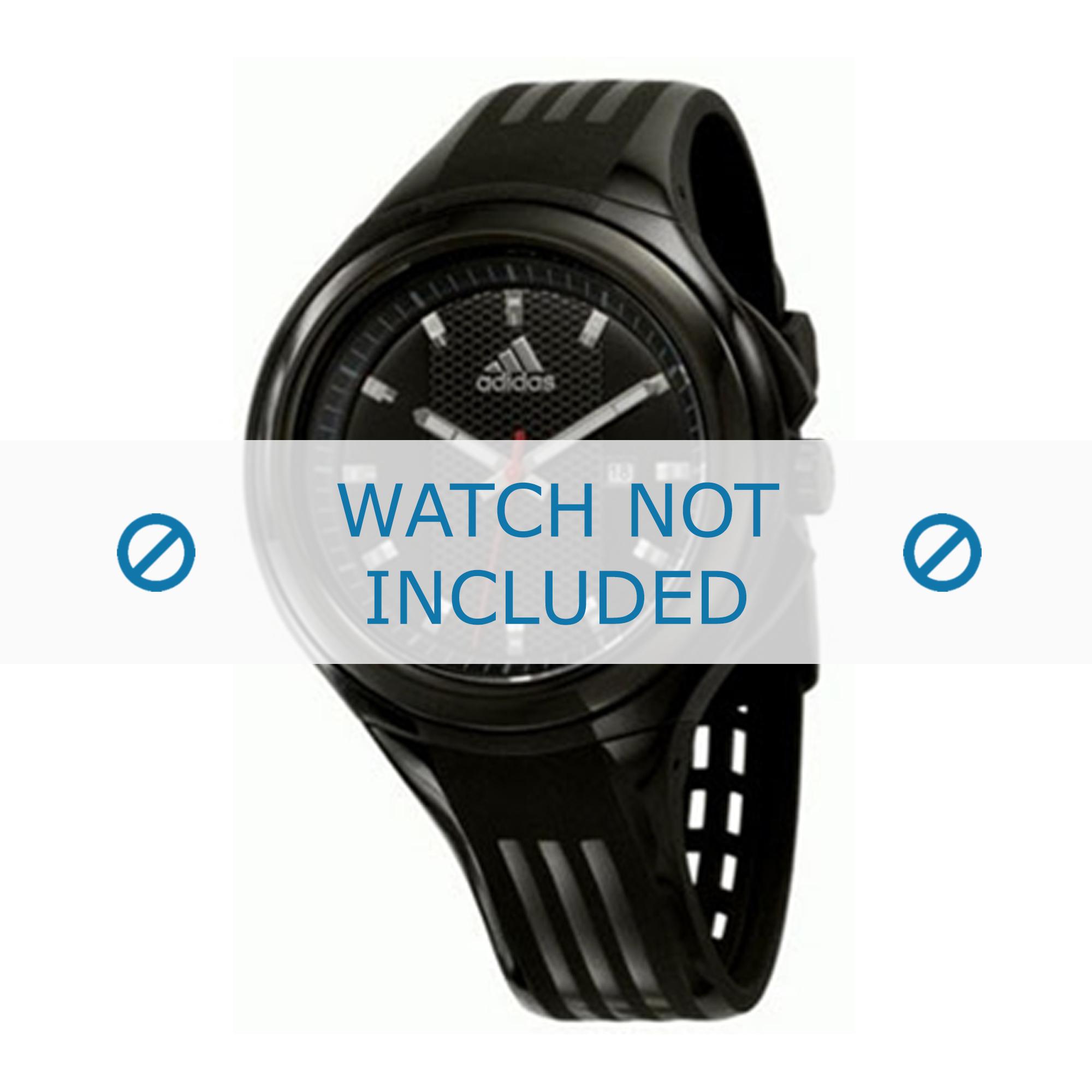 Adidas klockarmband ADP4000 Gummi / plast Svart