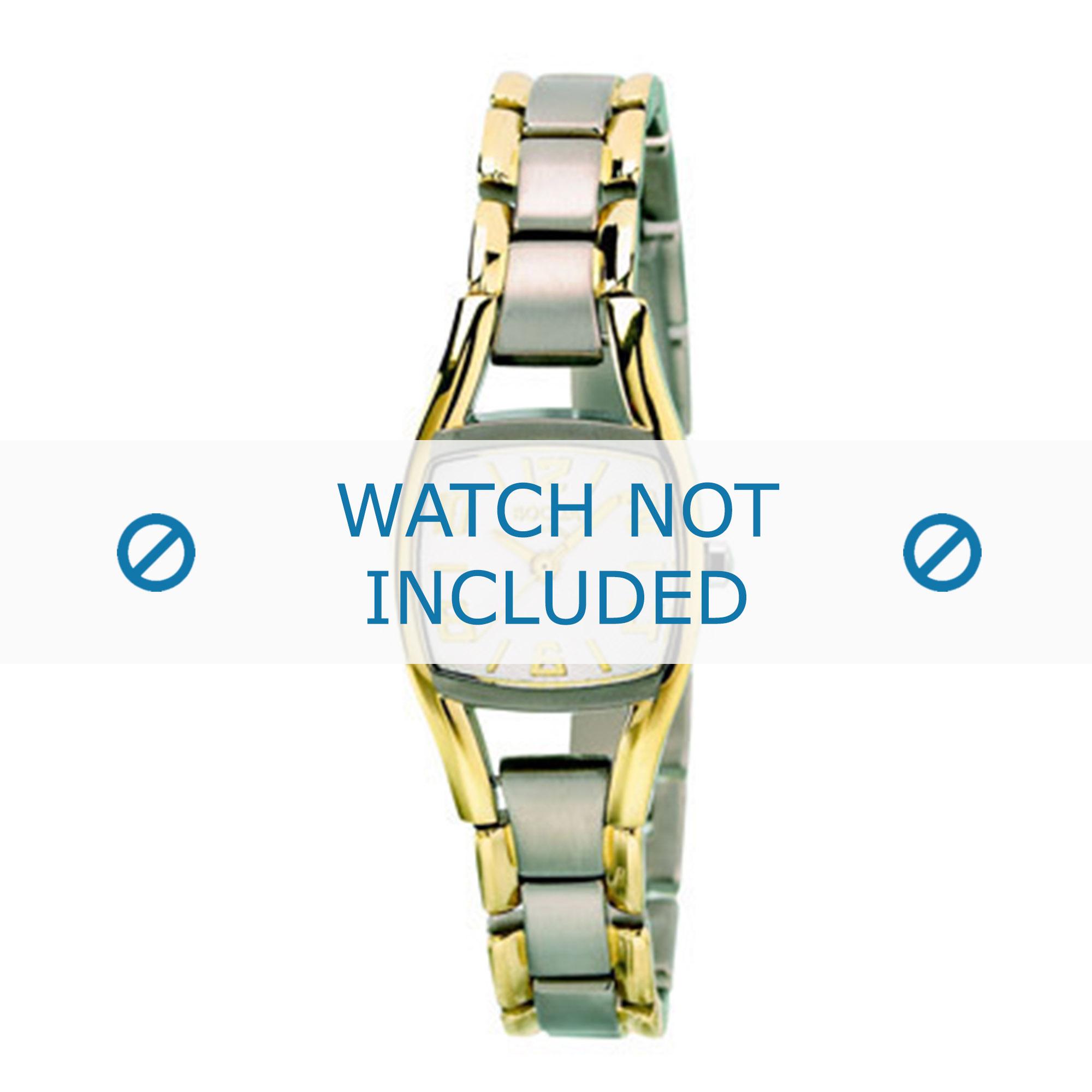 Boccia klockarmband 3127-03 (BO3127-03-40TIT) Titan Bi-färg