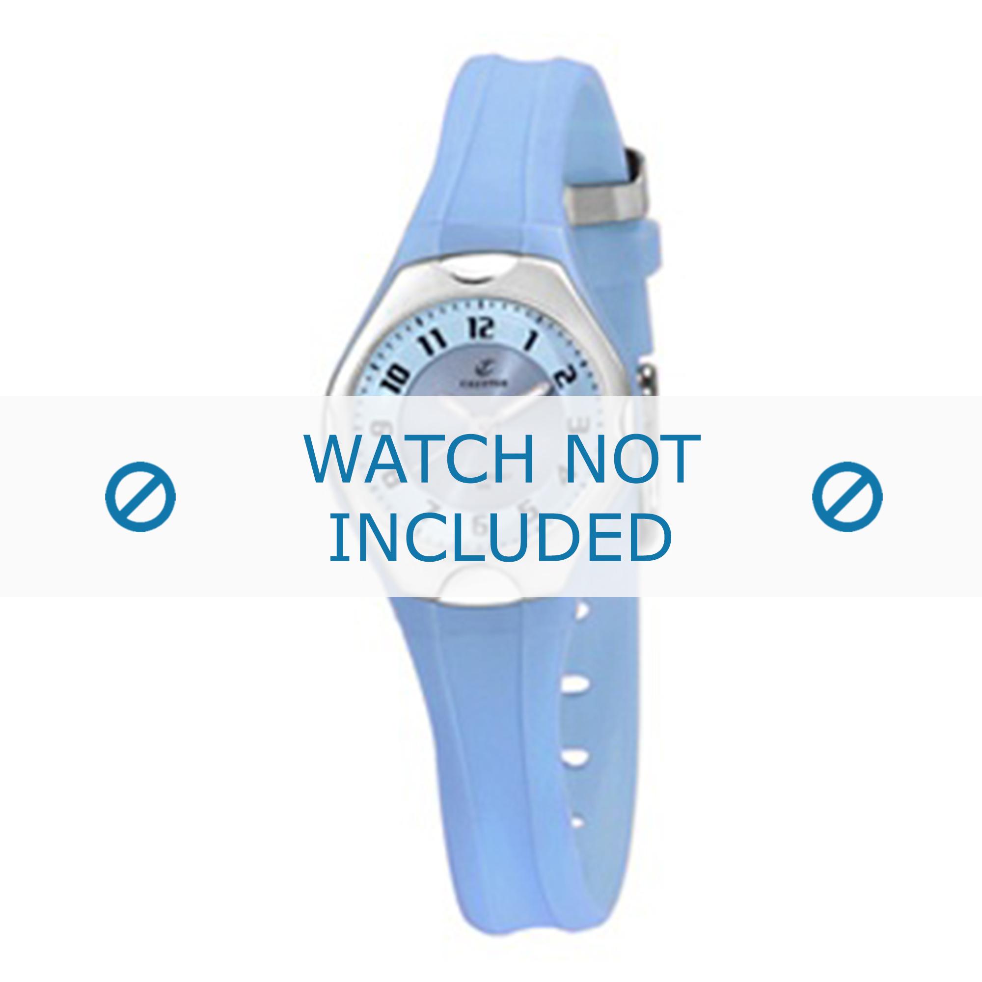 Calypso klockarmband K5163-4 Gummi / plast Ljusblå