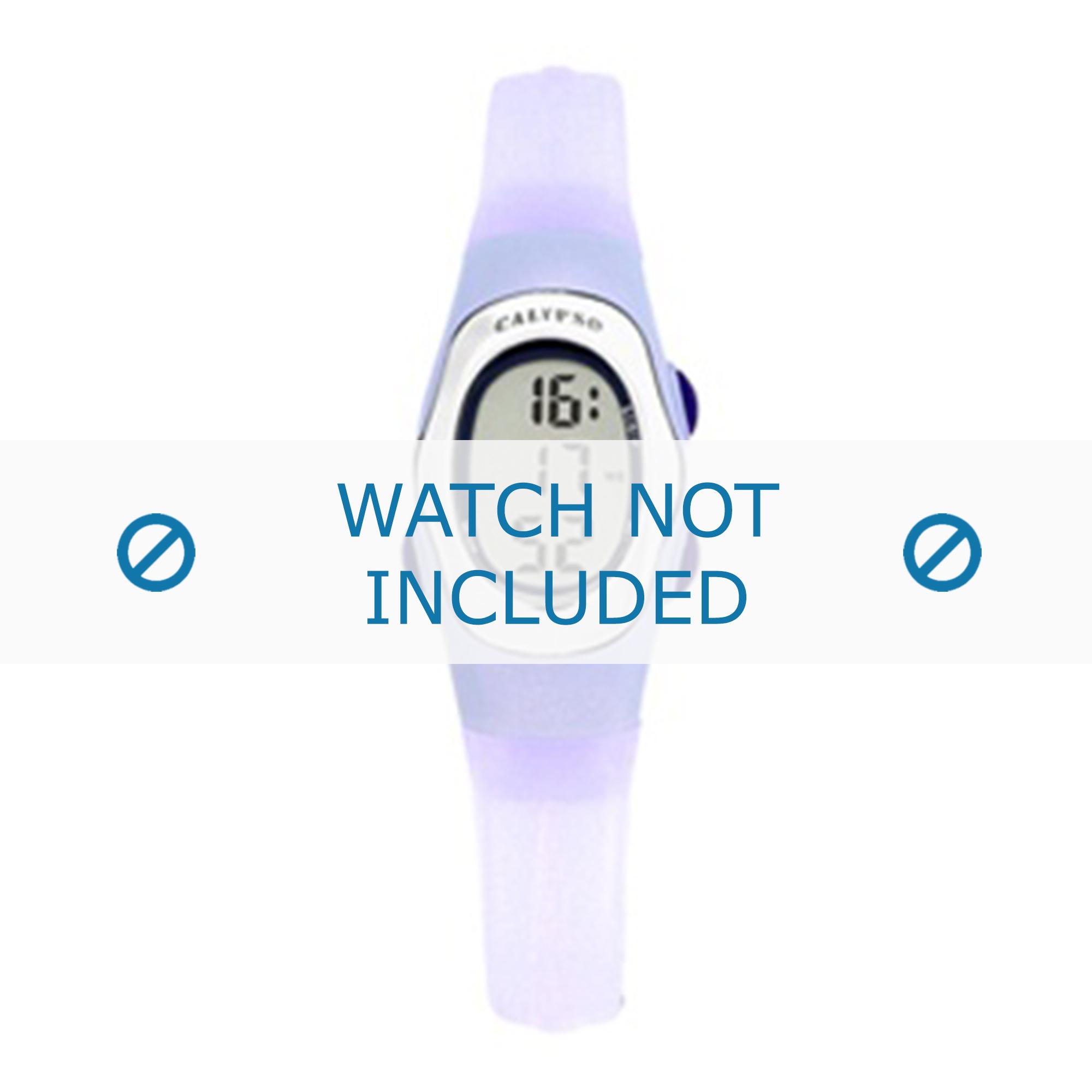 Calypso klockarmband K6018-2 Gummi Violett