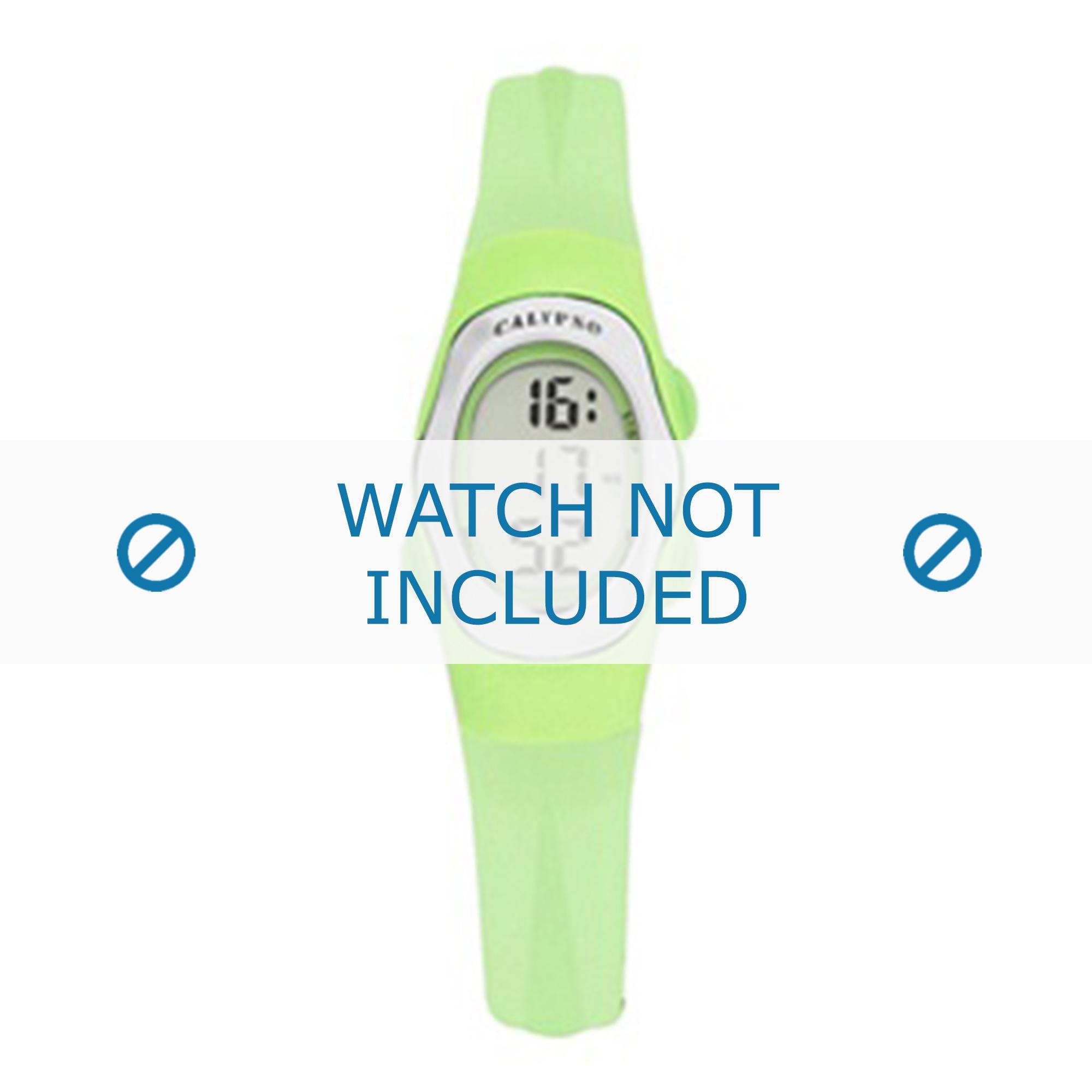 Calypso klockarmband K6018-9 Gummi Grön