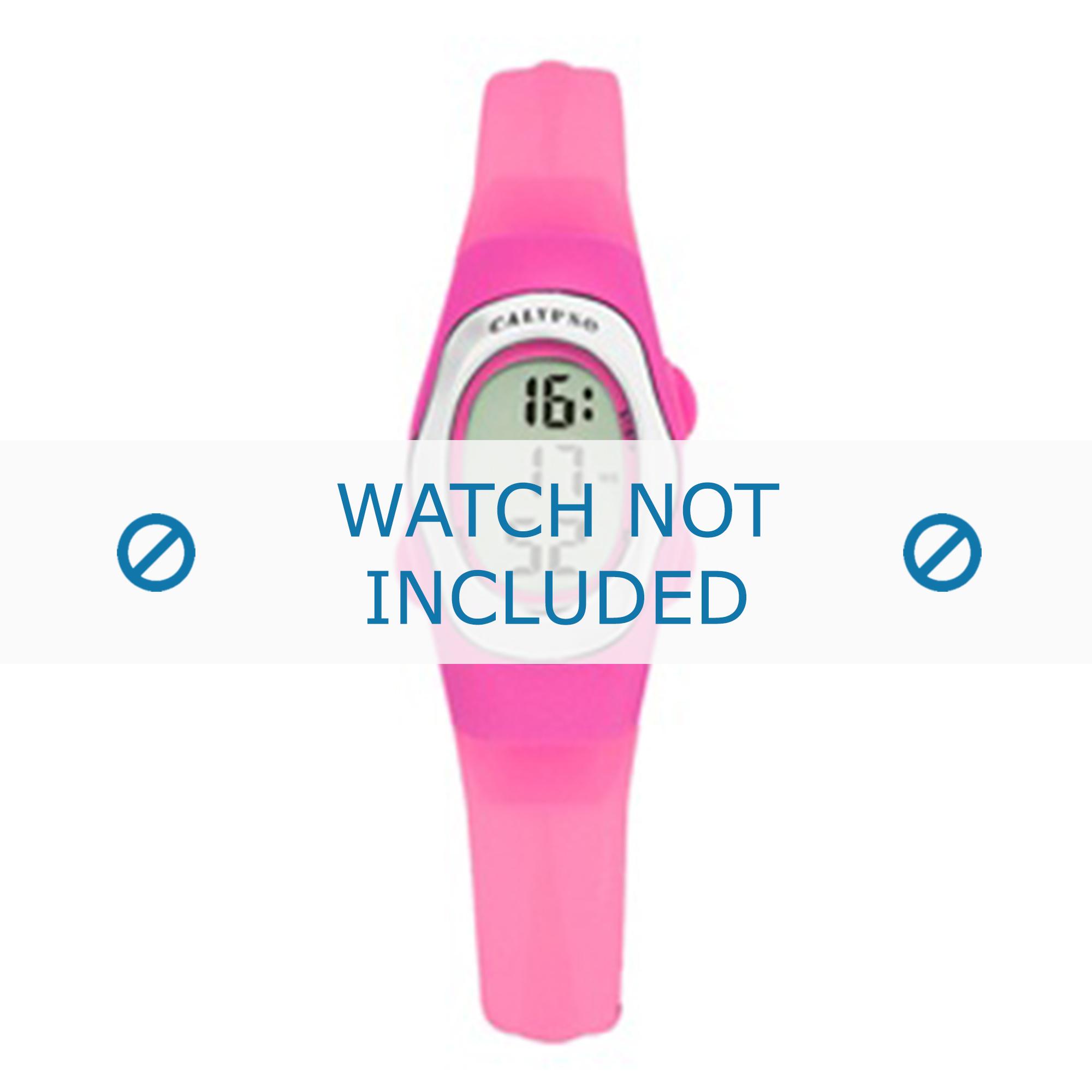 Calypso klockarmband K6018-B Gummi Rosa