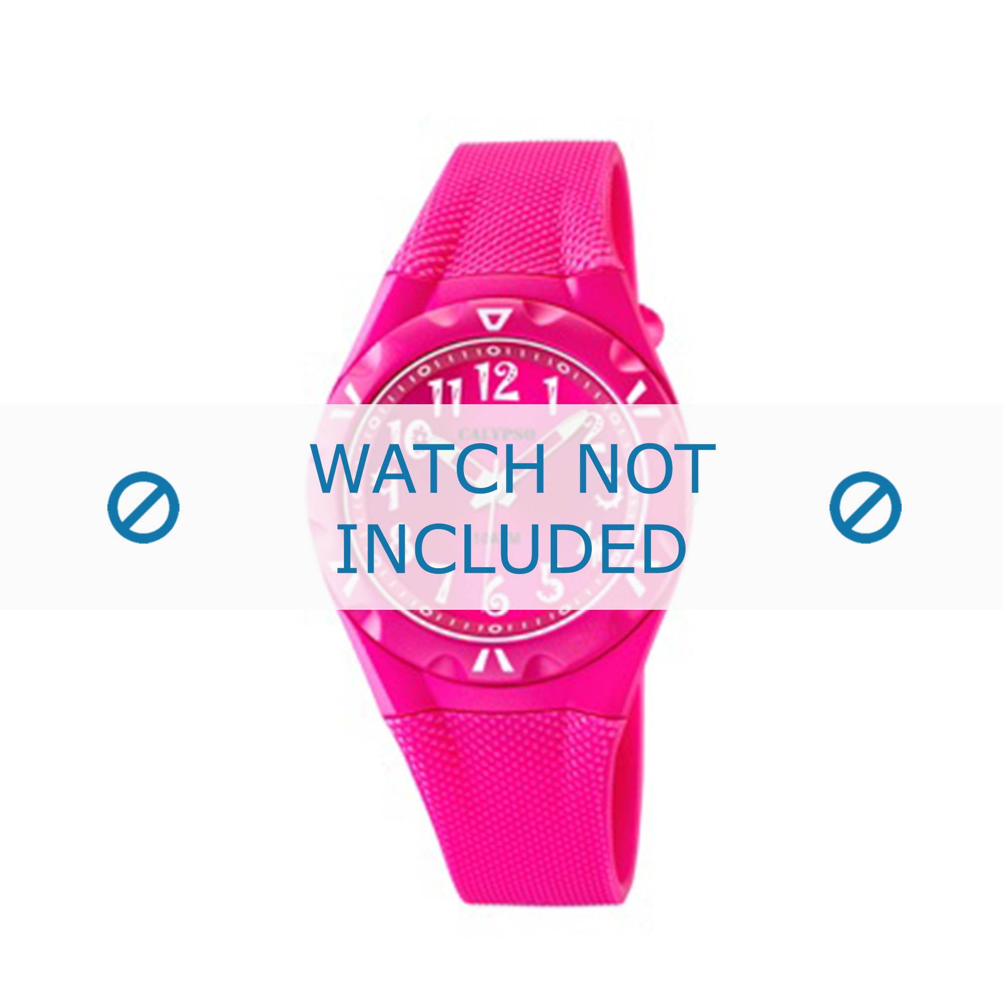 Calypso klockarmband K6064-5 Gummi / plast Rosa