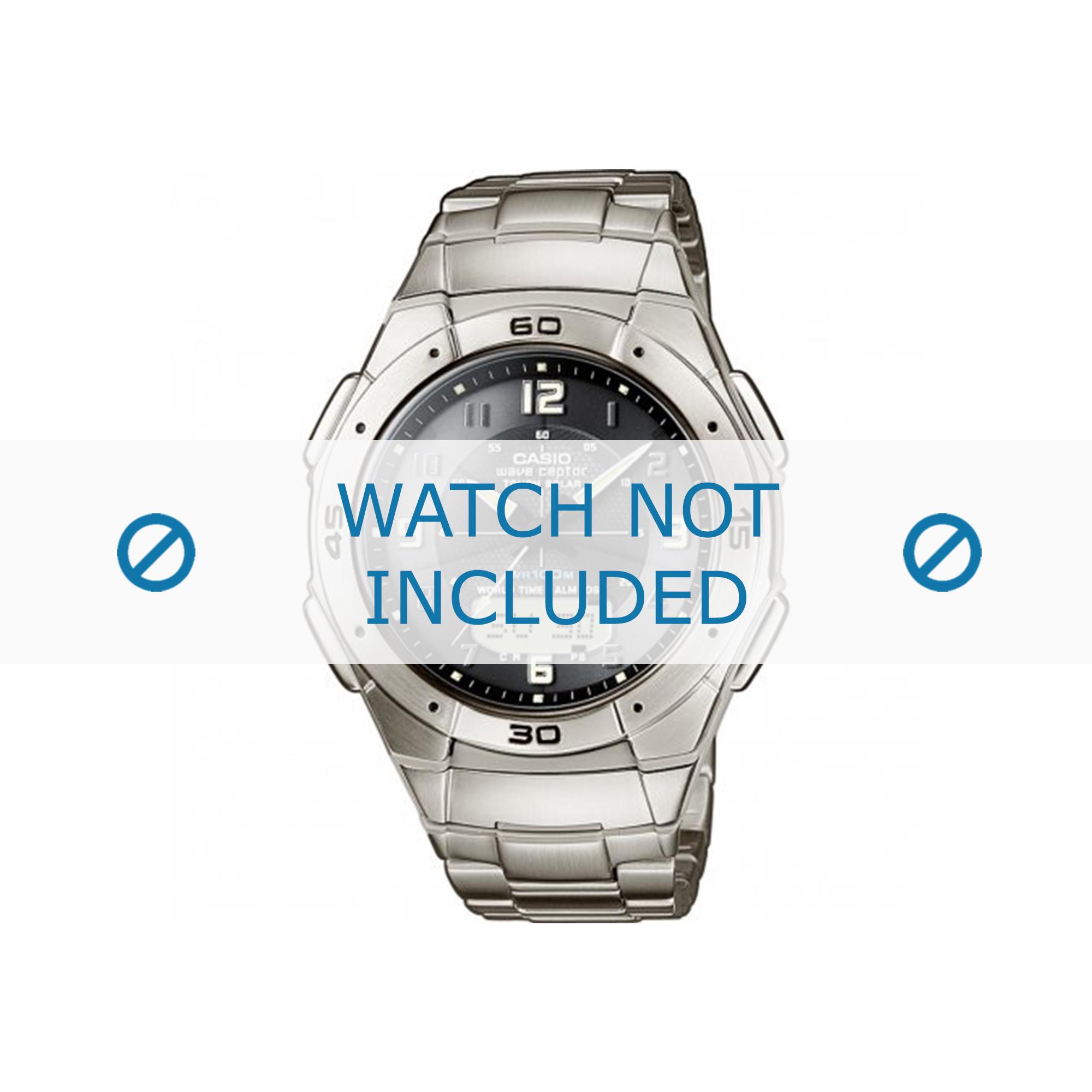 Casio klockarmband 5053 WVA-470 / 10299497 Metall Ilverfärgad
