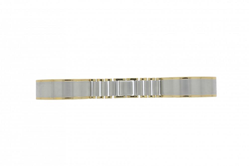 Klockarmband 16BI Metall Ilverfärgad 16mm - Klockarmband i metall - Universella klockarmband
