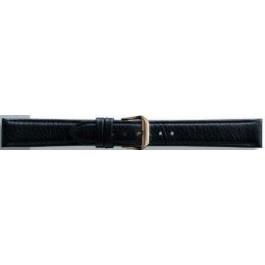 Klockarmband Condor 054.01 Läder Svart 12mm