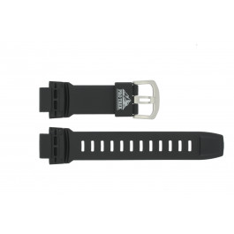 Klockarmband Casio PRG-200A / PRG-500 / PRW-2000 / PRW-5000 Plast Svart 18mm