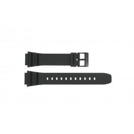 Klockarmband Casio AE-1200WH / AE-1300 / F-108WH / W-216H Plast Svart 18mm