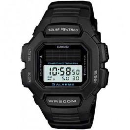 Klockarmband Casio HDD-S100 / W-S220 / 10395874 Gummi Svart 16mm