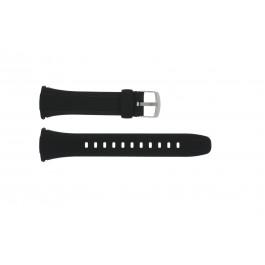 Klockarmband Casio WVA-M640 / WVQ-M410 Plast Svart 25mm