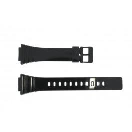Klockarmband Casio W-215H-1A / W-215H Plast Svart 18mm