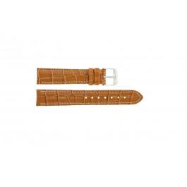 Klockarmband Universell 285.27 Krokodil läder Brun 20mm
