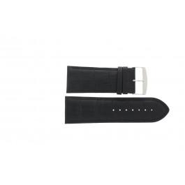 Klockarmband Universell 305R.01 Läder Svart 28mm