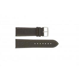 Klockarmband Universell 307.02 Läder Brun 20mm