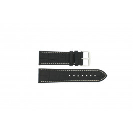 Klockarmband Universell 308.01 Läder Svart 20mm